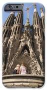 Sagrada Familia Church - Barcelona Spain IPhone Case by Matthias Hauser