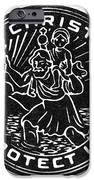 Saint Christopher Medal IPhone Case by Granger