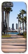 San Diego Skyline With Coronado Island Bayshore Bikeway IPhone Case by Paul Velgos