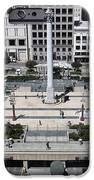San Francisco - Union Square - 5d17942 IPhone Case by Wingsdomain Art and Photography
