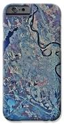 Satellite View Of Concord, New IPhone Case by Stocktrek Images