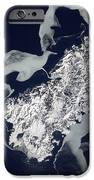 Sea Ice Surrounds The Volcanic Island IPhone Case by Stocktrek Images