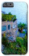 Seaside Villa Amalfi IPhone Case by Bill Cannon