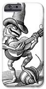 Singing Frog, Conceptual Artwork IPhone Case by Bill Sanderson