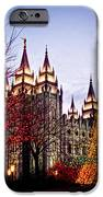Slc Temple Tree Light IPhone 6s Case by La Rae  Roberts