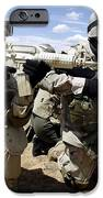 Soldiers Respond To A Threat IPhone Case by Stocktrek Images