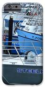 Steelhead And Fishing Boats IPhone Case by Jeff Lowe