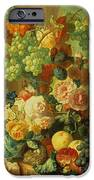 Still Life With Fruit And Flowers IPhone Case by Jan van Os