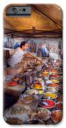 Storefront - The Open Air Tea And Spice Market  IPhone Case by Mike Savad