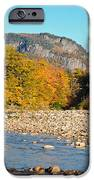 Sunlight On The Saco IPhone Case by Geoffrey Bolte