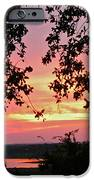 Sunset Over Canyon Lake IPhone Case by Randi Shenkman