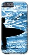 Surfer Silhouette IPhone Case by Carlos Caetano