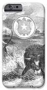 Texas Scene, 1855 IPhone Case by Granger