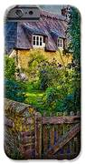 Thatched Roof Country Home IPhone Case by Chris Lord