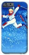 The Aerial Skier 16 IPhone Case by Hanne Lore Koehler