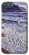 The Choppy Sea IPhone Case by Henri-Edmond Cross