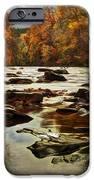 The Fall On The River Avon  IPhone Case by John Farnan