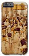 The Hounds Began Suddenly To Howl In Chorus  IPhone Case by Cecil Charles Windsor Aldin