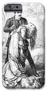 Theater: False Shame, 1872 IPhone Case by Granger