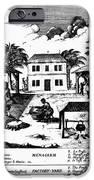 Tobacco Plantation, C1670 IPhone Case by Granger
