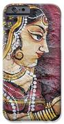 Traditional Painting On A Wall Jodhpur IPhone Case by David DuChemin