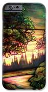 Trees Stained Glass Window IPhone Case by Thomas Woolworth