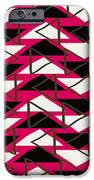 Triangles IPhone Case by Louisa Knight