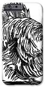 Turkey, Woodcut IPhone Case by Gary Hincks