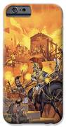 Unidentified Roman Attack IPhone Case by Angus McBride