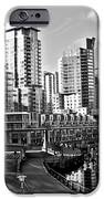 Vancouver Harbour Bw IPhone Case by Kamil Swiatek