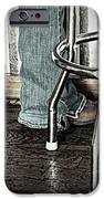Waitress In Boots IPhone Case by Chris Berry