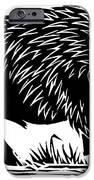 Wild Boar, Woodcut IPhone Case by Gary Hincks