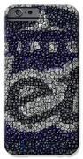 Winnipeg Jets Puck Mosaic IPhone Case by Paul Van Scott