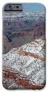 Winter's Touch At The Grand Canyon IPhone Case by Sandra Bronstein