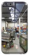 Workshop Full Of Machinery In A Factory IPhone Case by Corepics