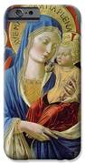 Virgin And Child With Angels IPhone Case by Benozzo di Lese di Sandro Gozzoli