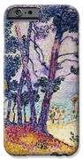 A Pine Grove IPhone Case by Henri-Edmond Cross