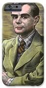 Alan Turing, British Mathematician IPhone Case by Bill Sanderson