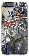 Many Bikes IPhone Case by Marilyn Hunt
