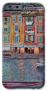 Portofino Al Crepuscolo IPhone Case by Guido Borelli