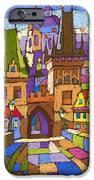 Prague Charles Bridge 01 IPhone Case by Yuriy  Shevchuk