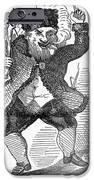 Santa Claus, 1849 IPhone Case by Granger