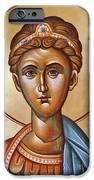 St Demetrios The Great Martyr And Myrrhstreamer IPhone Case by Julia Bridget Hayes