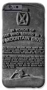 10th Mountain Division IPhone Case by David Lee Thompson