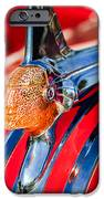 1951 Pontiac Chief Hood Ornament IPhone Case by Jill Reger