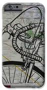 Bike 2 On Map IPhone Case by William Cauthern