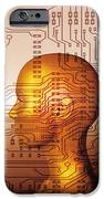 Artificial Intelligence IPhone Case by Mehau Kulyk