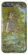 A Bend In The Eure IPhone Case by Gustave Loiseau