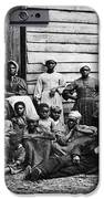 A Group Of Slaves IPhone Case by Photo Researchers