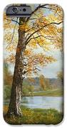 A Quiet Lake IPhone Case by Albert Bierstadt